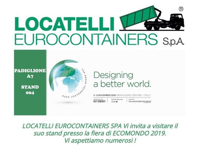 Salon Ecomondo 5-8 Novembre 2019 Rimini