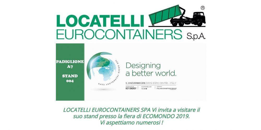 Fiera Ecomondo 5-8 Novembre 2019 Rimini