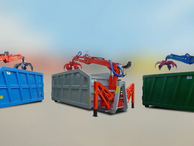 Containers for loaders