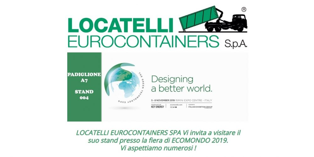 Ecomondo Messe, 5-8 November 2019, Rimini